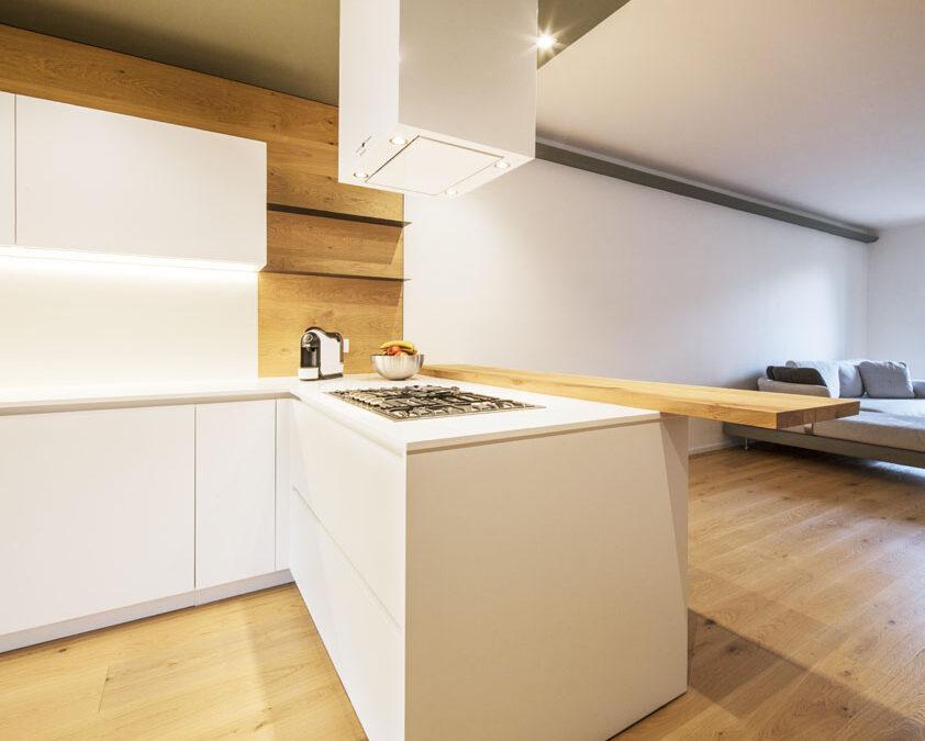 Cucina semplice, ma elegante